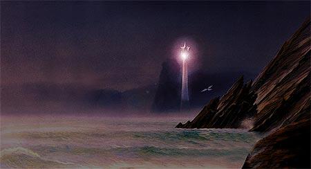 Torre Vigía de Lond Ernil vista desde lejos